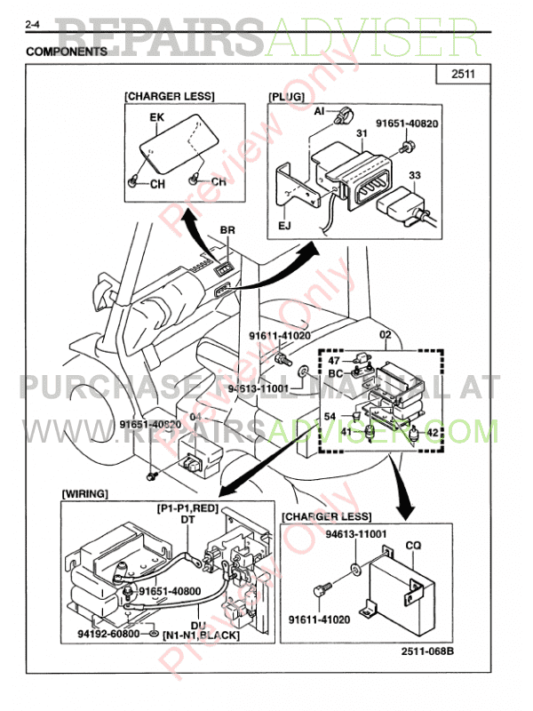 Toyota Forklifts 7FB 10-35 Series PDF Manual Download