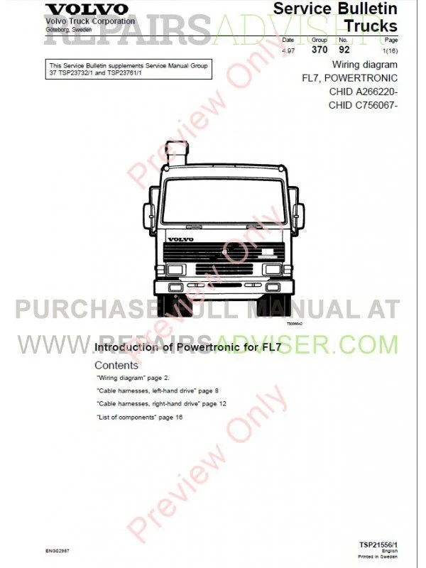 Volvo Truck D7 Wiring Diagram : 29 Wiring Diagram Images