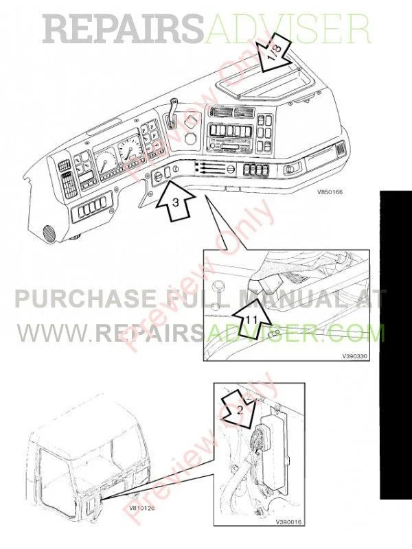 Volvo VN Truck Workshop Service Repair Manual PDF Download