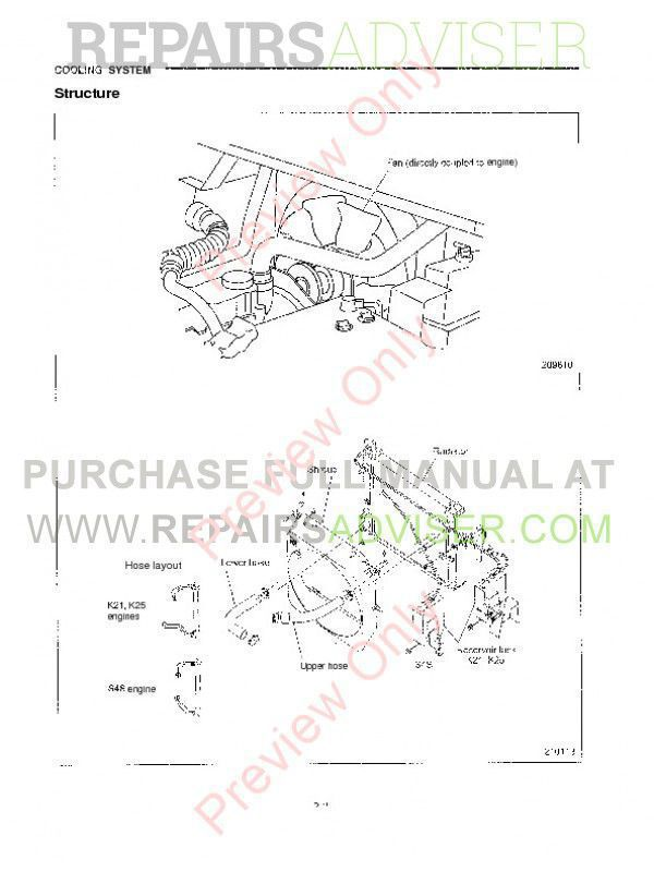 Caterpillar Lift Trucks Chassis & Mast Service Manual PDF