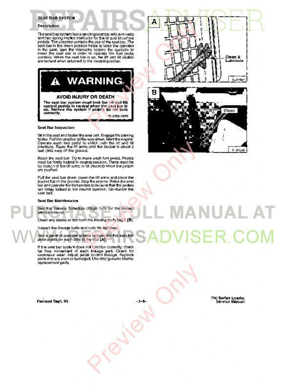 Download Bobcat Loader 753 PDF Manual