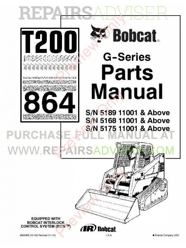 Bobcat T320 Wiring Diagram T190 Bobcat Wiring Diagram