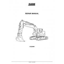 Case CX330 and CX350 Crawler Excavators Repair Manual PDF