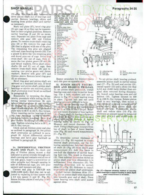 John Deere Schematics Case International Tractors 1190 1690 Shop Manual Pdf Download