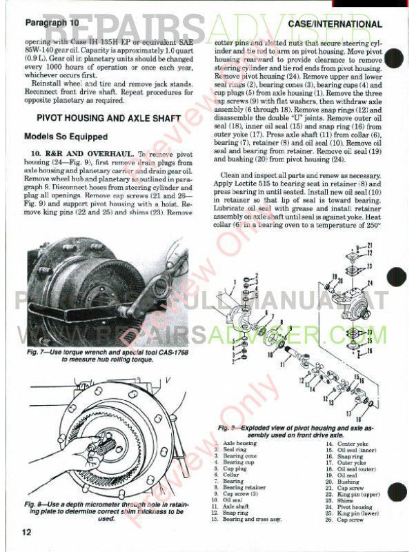Case International Farmall Tractor Parts Catalog .html