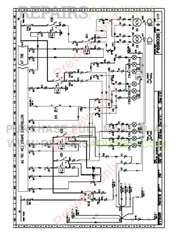 John Deere Forwarder 1110E 1210E 1510E Electric Schematics