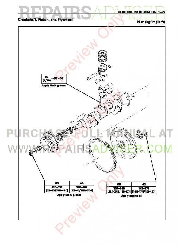 John Deere Engine AA-4/6BG1T, BB-4/6BG1T PDF Workshop Manual