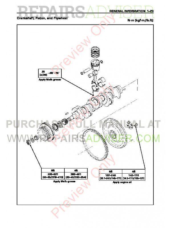 John Deere Engine AA-4/6BG1T, BB-4/6BG1T PDF Workshop Manual