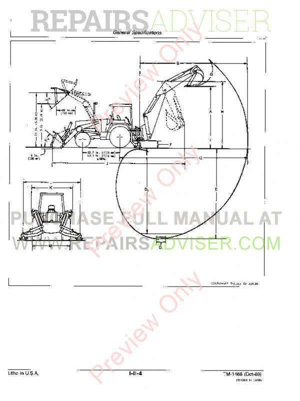 John Deere 410B 410C 510B 510C Technical Manual PDF Download