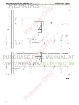 Volvo Trucks FM791012, FH1216, NH12 Wiring Diagrams