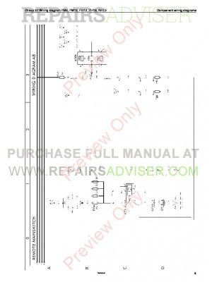 Volvo Trucks FM791012, FH1216, NH12 Wiring Diagrams Service Manuals PDF Download