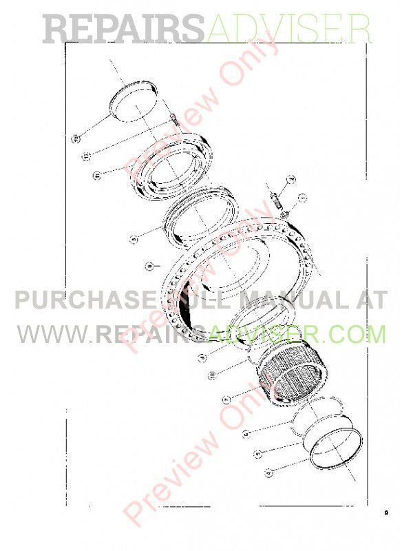 John Deere Funk P200 Planetary Service, Parts Assembly Manual