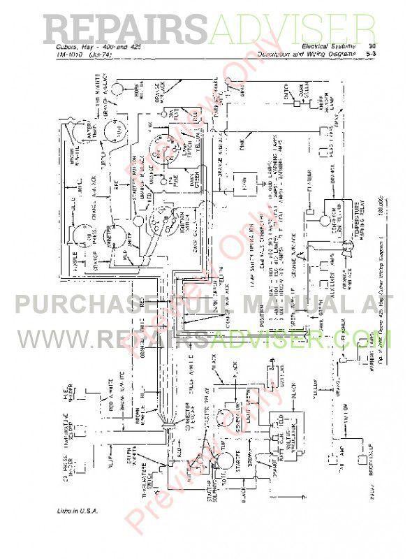 John Deere 400 & 425 Hay Cubers Technical Manual TM-1010