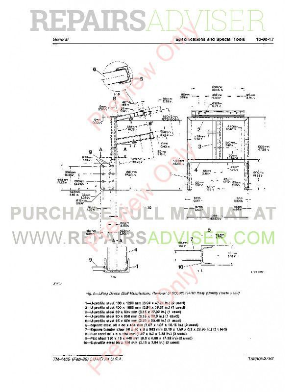 John Deere Tractor 2750 TM-4405 Technical Manual PDF Download