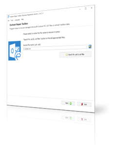 How to repair a corrupted MS Outlook store file?