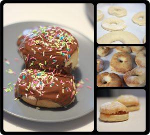 Donuts φούρνου
