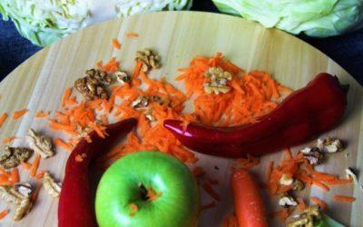 Πολύχρωμη Σαλάτα με Λάχανο!!