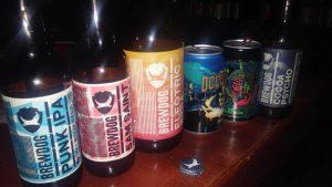 Beer tasting, Brewdog beers, U Fleku