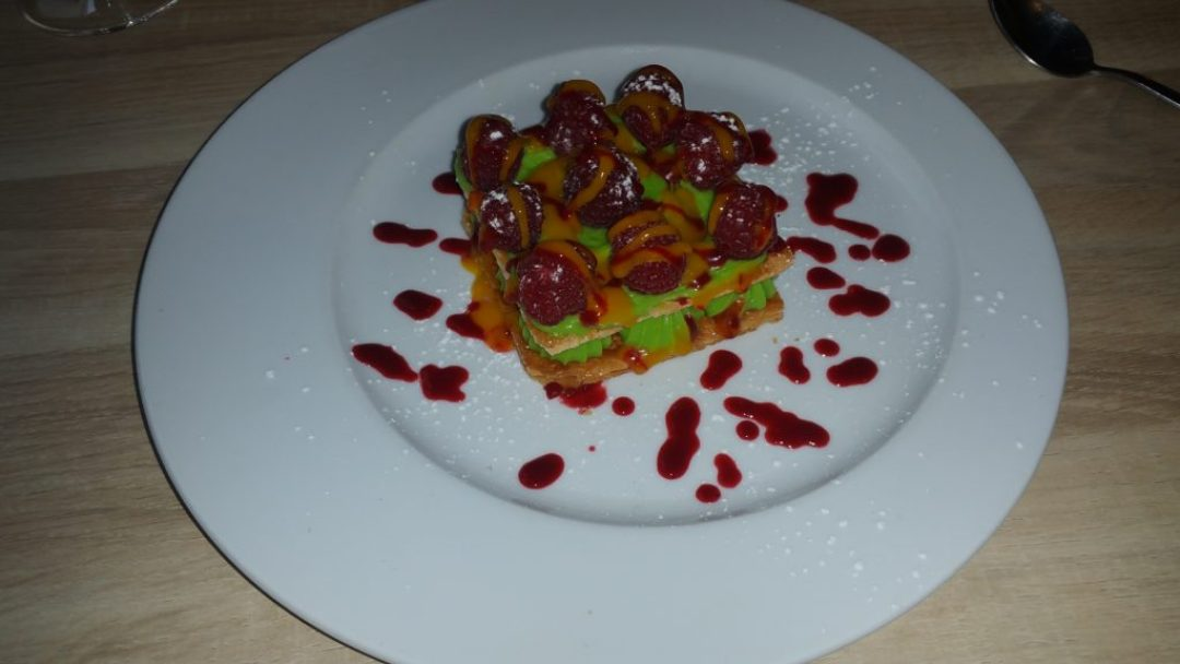 Mille-feuille with ruspberries, LE III, Paris