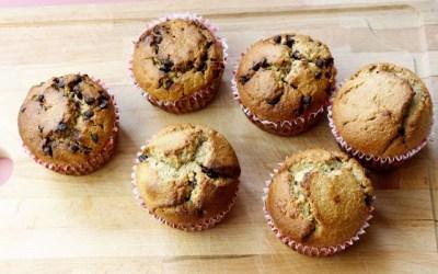 Muffins – Dairy free!