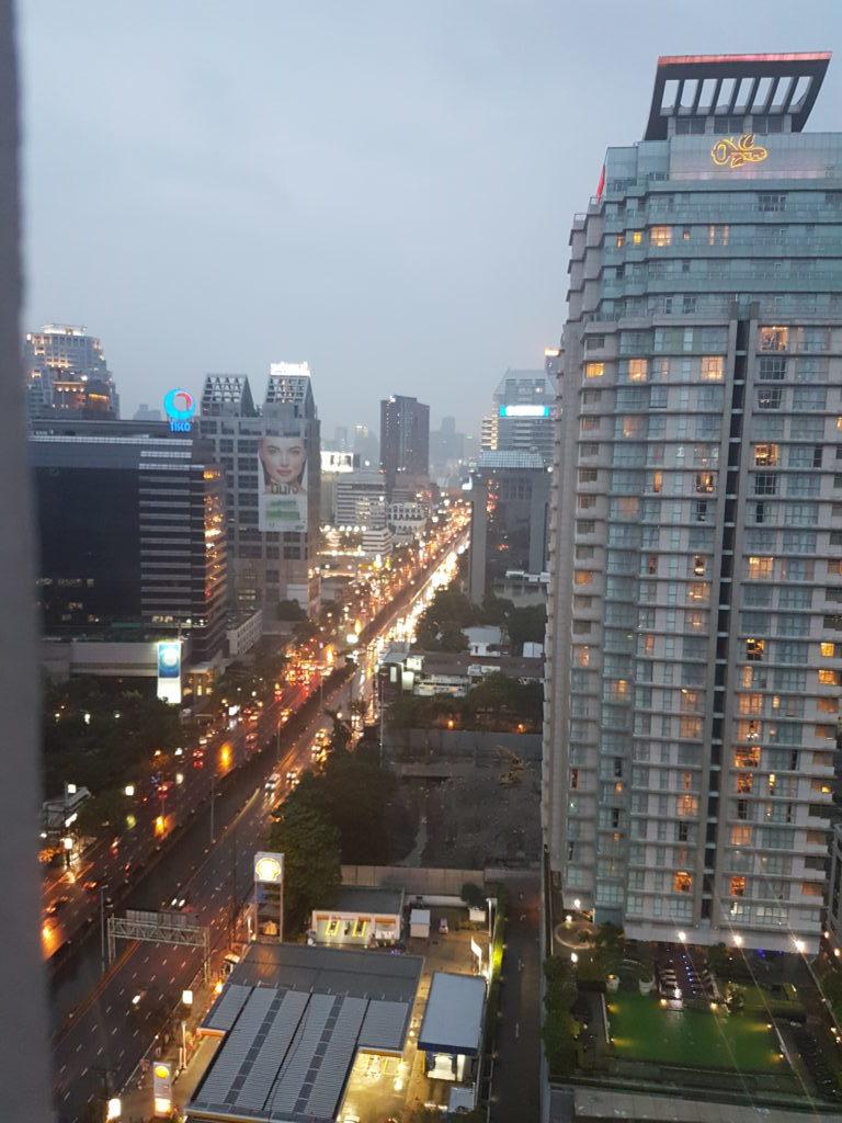 Μπανγκόκ ουρανοξύστης θέα