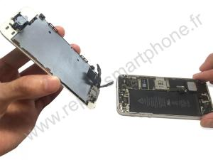 Retirer l'ecran de l'iPhone