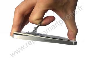 Decliper l'ecran de l'iPhone etape 1