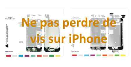 Ne pas perdre de vis sur iPhone aperçu