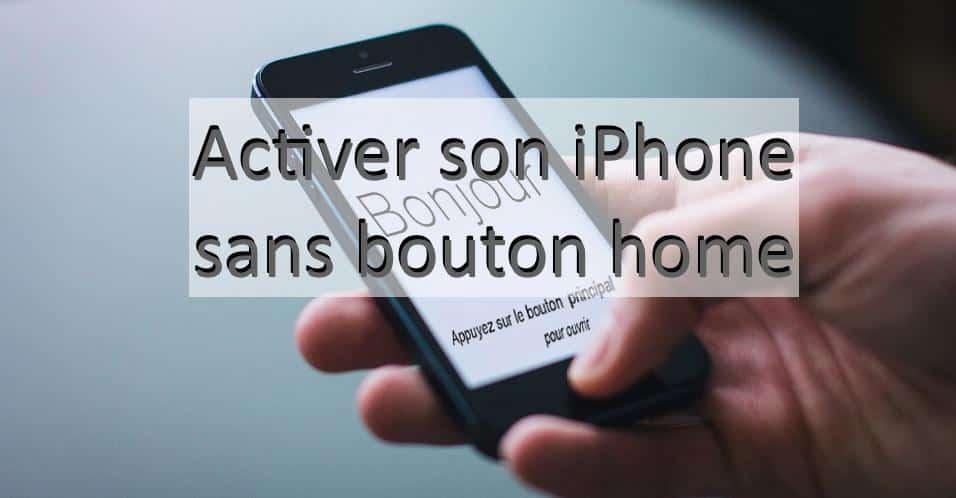 comment activer un iphone qui a un bouton home cass boutique r parsmartphone. Black Bedroom Furniture Sets. Home Design Ideas