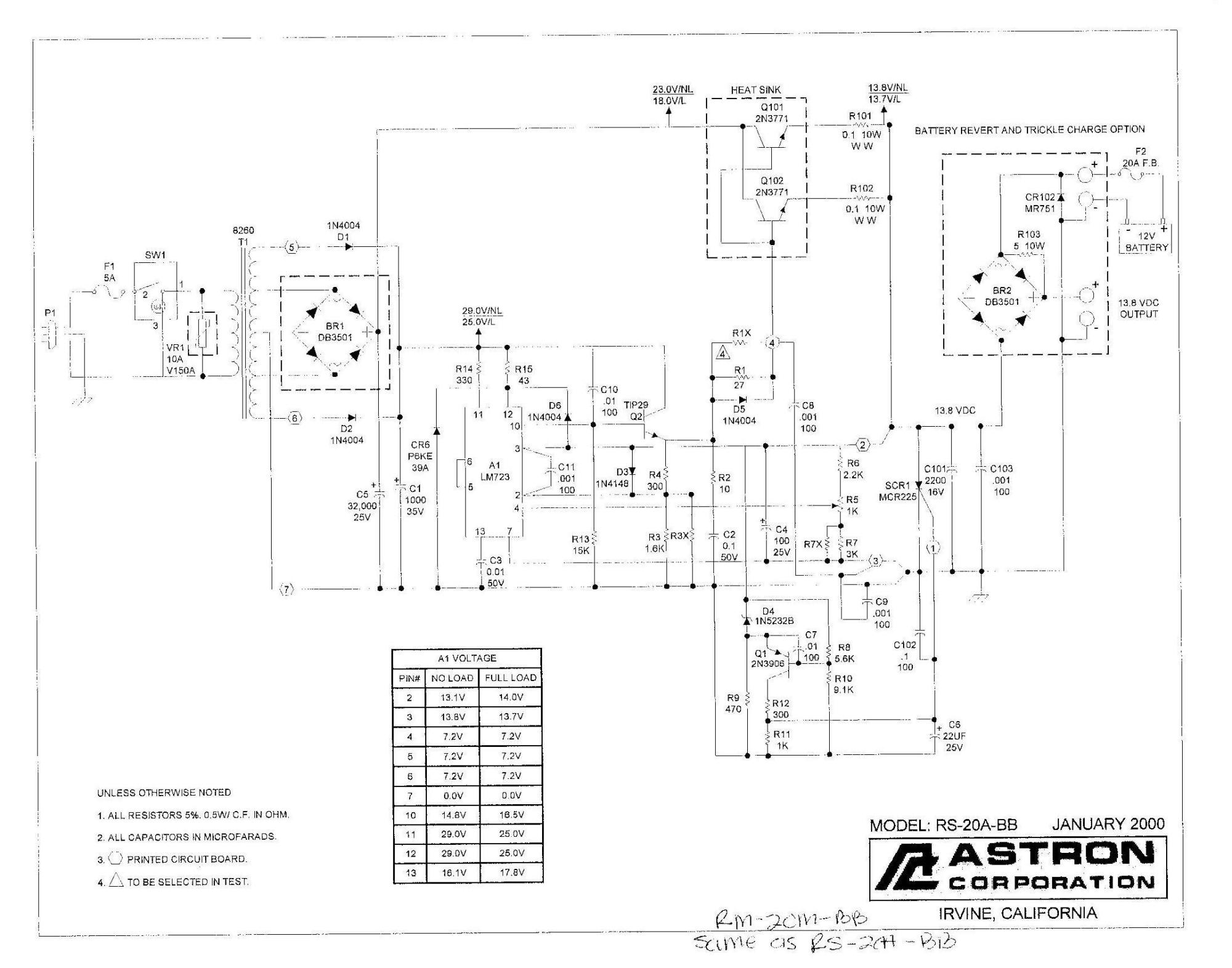 hight resolution of  schematic of the rs 20a bb