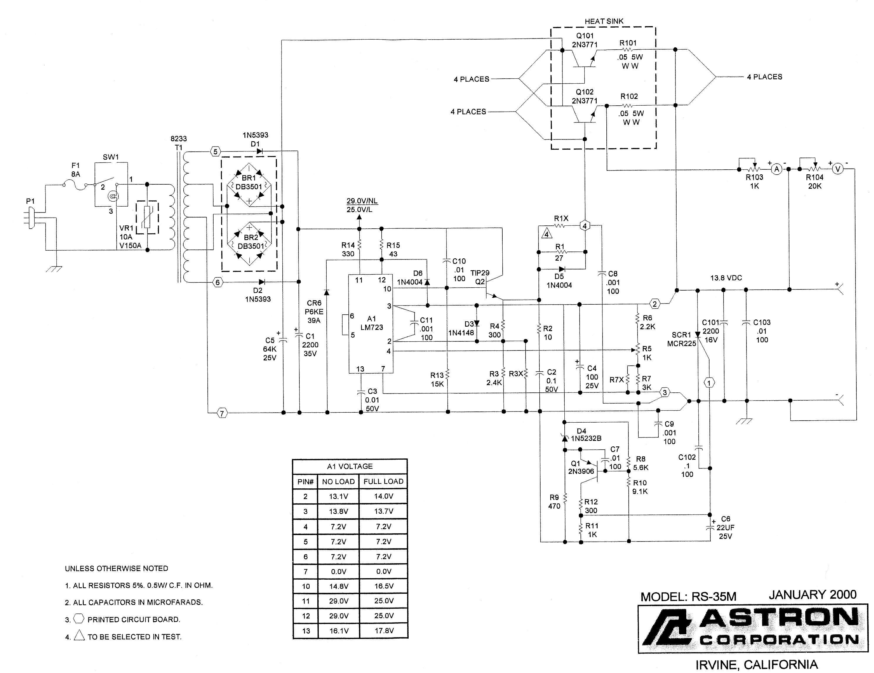 ASTRON RS-35M MANUAL PDF