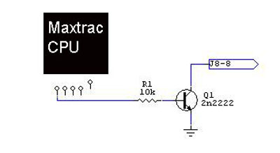 Interfacing a MaxTrac, MaxTrac 50, MaxTrac 100, MaxTrac