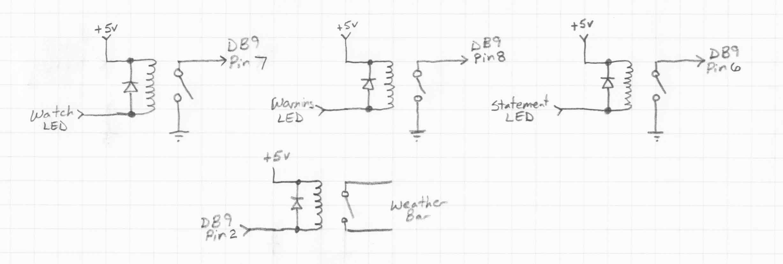 Modification And Interfacing Of The Radio Shack 12 251 Weather Radio