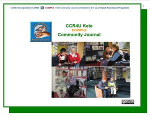 Kete Community Journal Kete Example