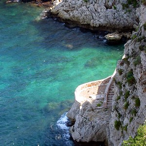 Where the land meet the Sea in Sicily