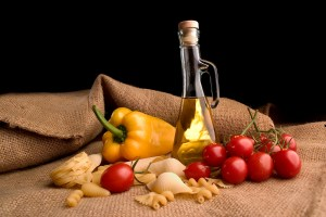 Typical Mediterranean Ingredients