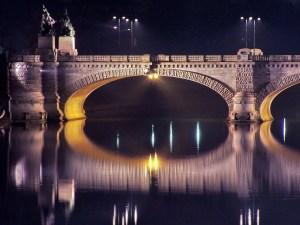 Umberto I Bridge in Turin