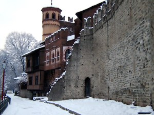 Medieval Old Town in Turin