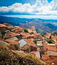 Bova Village in Calabria