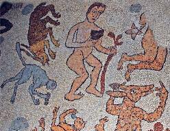 Mosaics in Otranto.