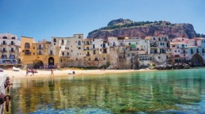 Cefalu from the Sea