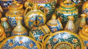 Typical Cotta vase from Sicily