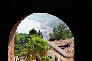 Hill View in Taormina