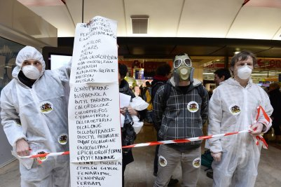Activists Protest Chemicals