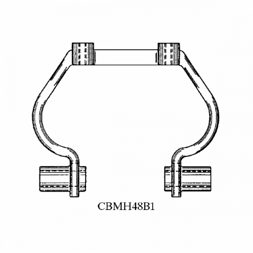 Replacement Collector Bracket CBMH48B1