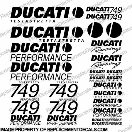 Ducati Decals