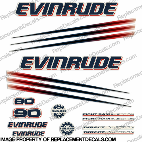 2002 evinrude 90 ficht wiring diagram internal of ups decals page 4 90hp bombardier decal kit 2006