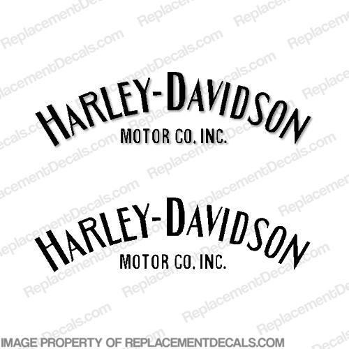 Amf Harley Gas Tank Decals Satu Sticker