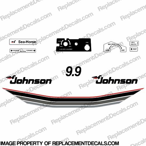 Johnson 1985 9.9hp Decals