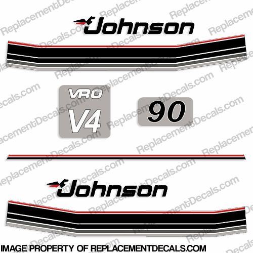 Johnson 1985 90hp VRO Decals